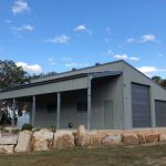 Warehouse with shed — Shed kits in Gympie, QLD