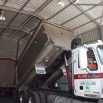 Garage Truck — Shed kits in Gympie, QLD